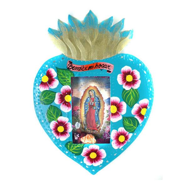 Tin-Work-Sacred-Heart-Niche
