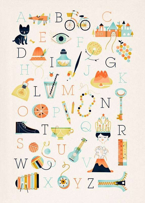 linero-alphabet-poster