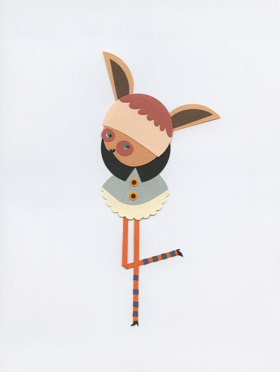 Paper character by Elsa Mora. 2013 copy