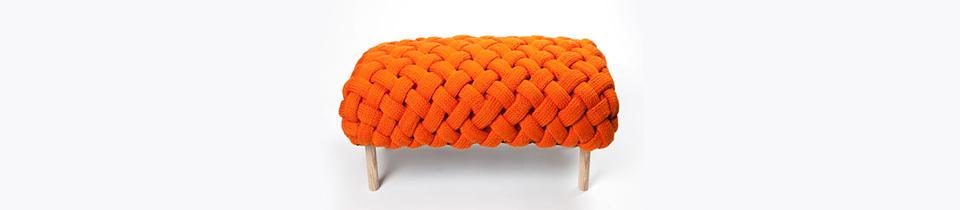 Sculptural Textiles by Claire-Anne O'Brien.