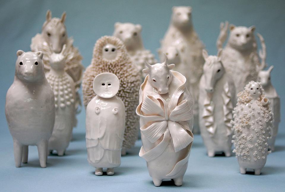 Sophie Woodrow's Porcelains.