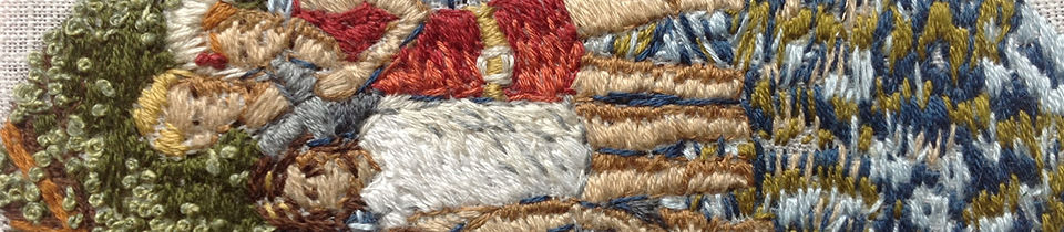 Michelle Kingdom's Embroideries.
