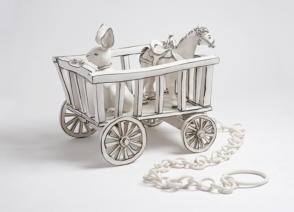 Toy cart Katharine Morling smaller