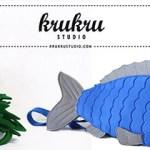 Sculptural Bags by Krukru Studio.