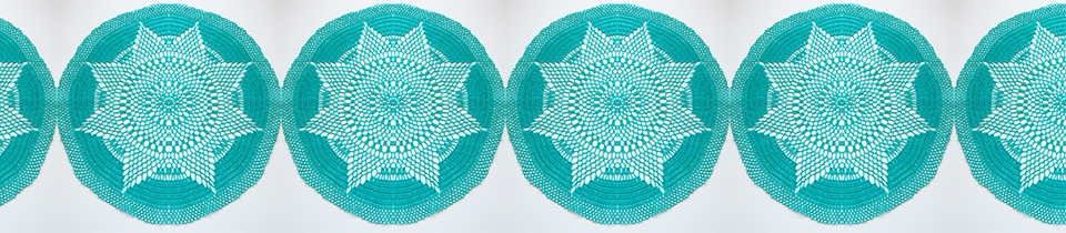 Beautiful Crochet Doilies from Table Top Jewels.