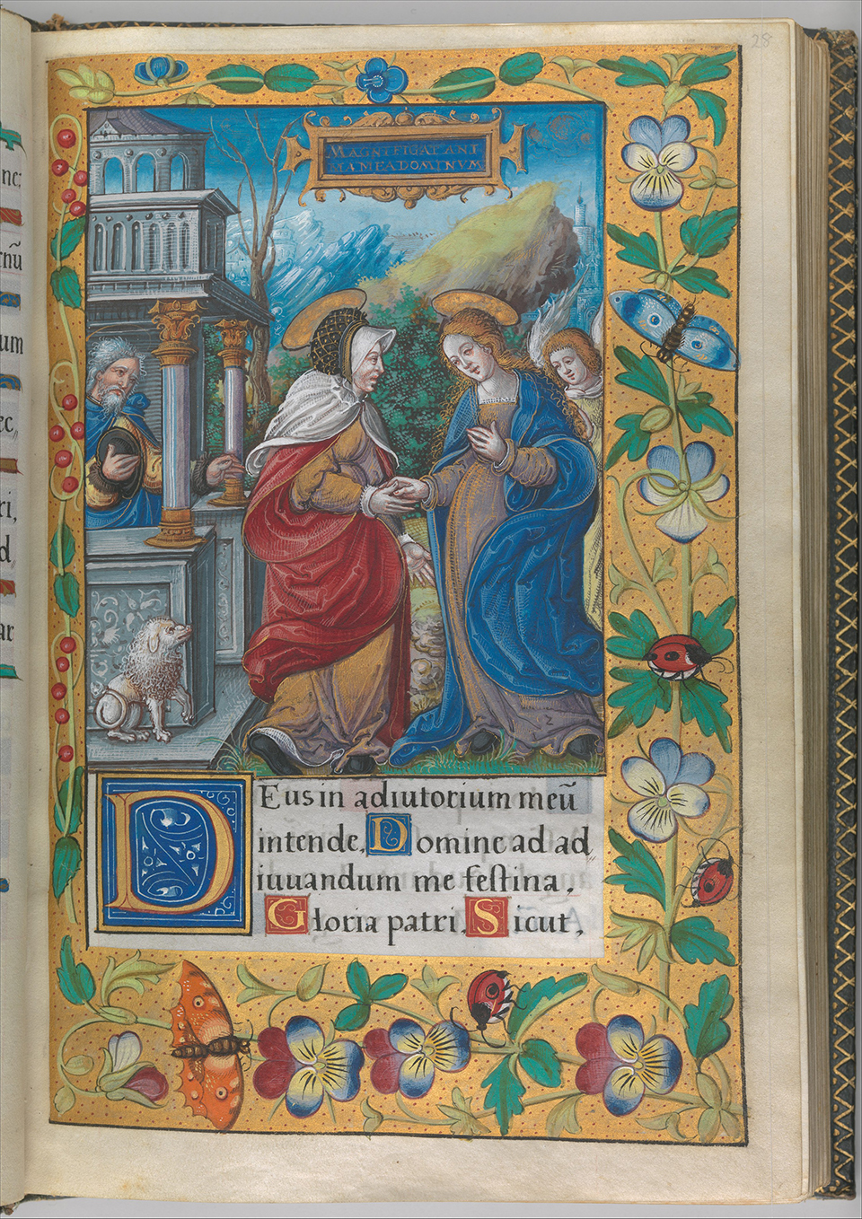 Illuminated Book of Hours made for King Francis I.