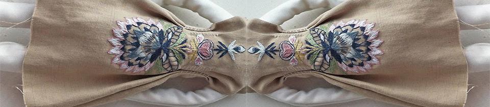 Needlework by Nadya Sheremet.