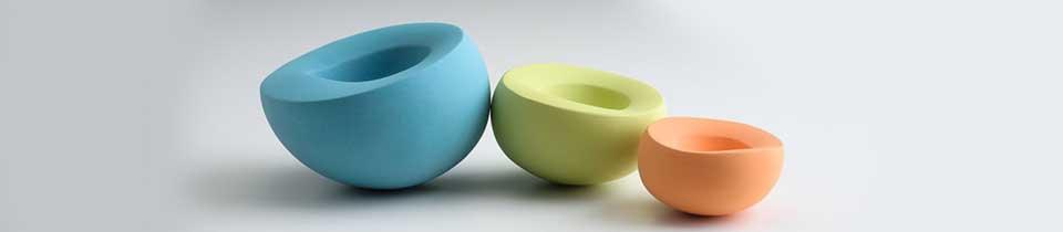 Ceramics by Maria Wojdat.
