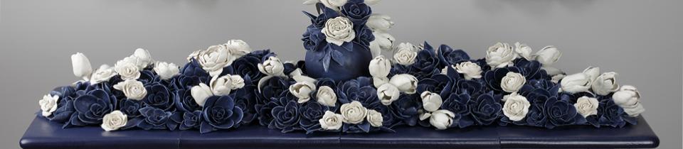 Ceramics by Giselle Hicks.