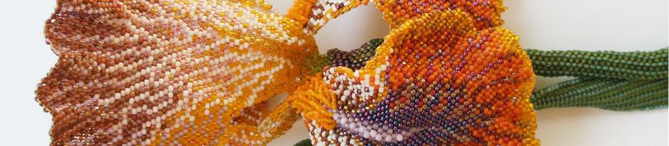 Beadwork by Karen Paust.