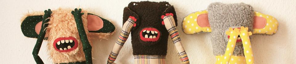 Plush Toys by Tania Patritti.