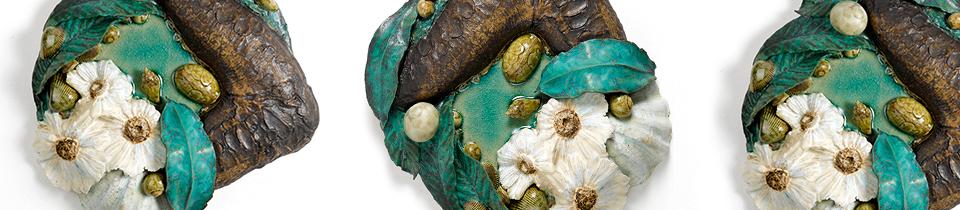 Ceramics by Ben R. Anderson.
