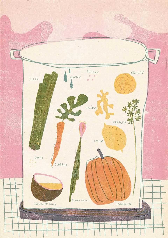 Coconut Pumpkin Soup Recipe