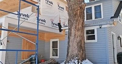Our Maple Tree Farmhouse. Work in Progress.