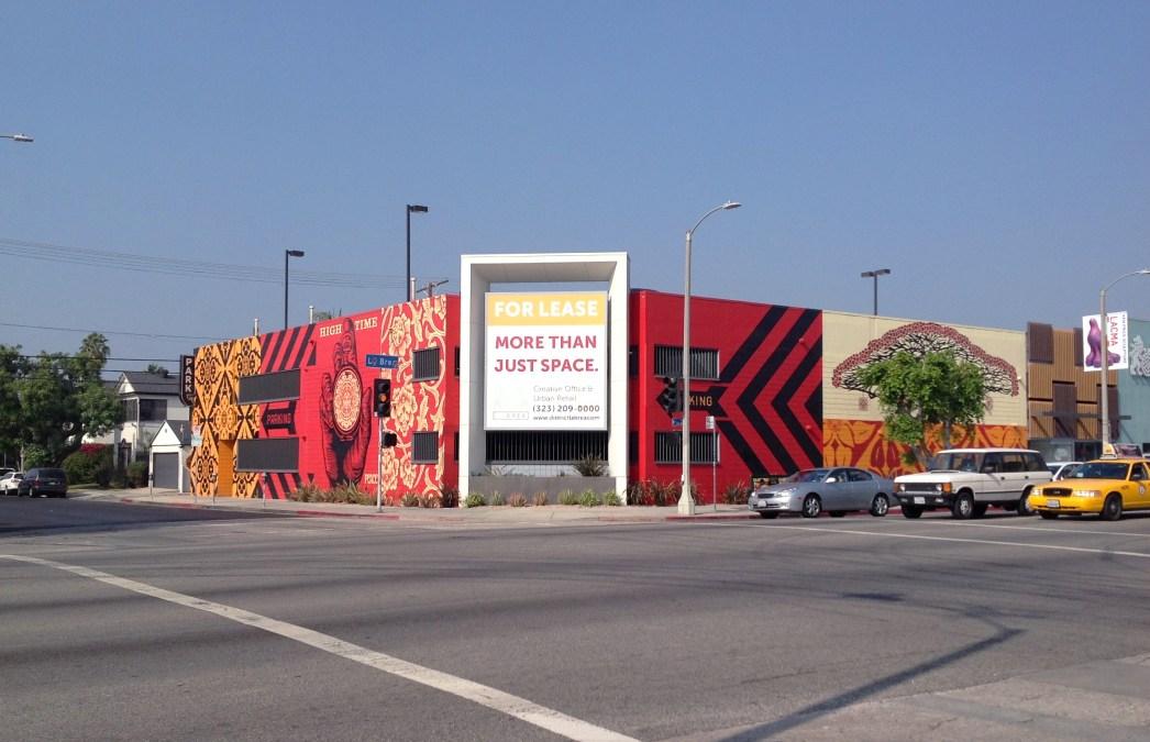 Shepard Fairey's Mural