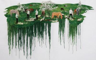 Embroideries by Sophia Narrett