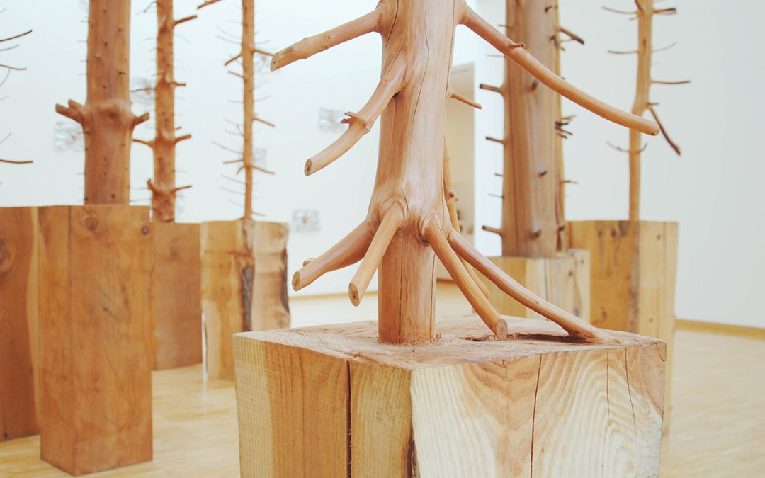 Sculptures by Giuseppe Penone