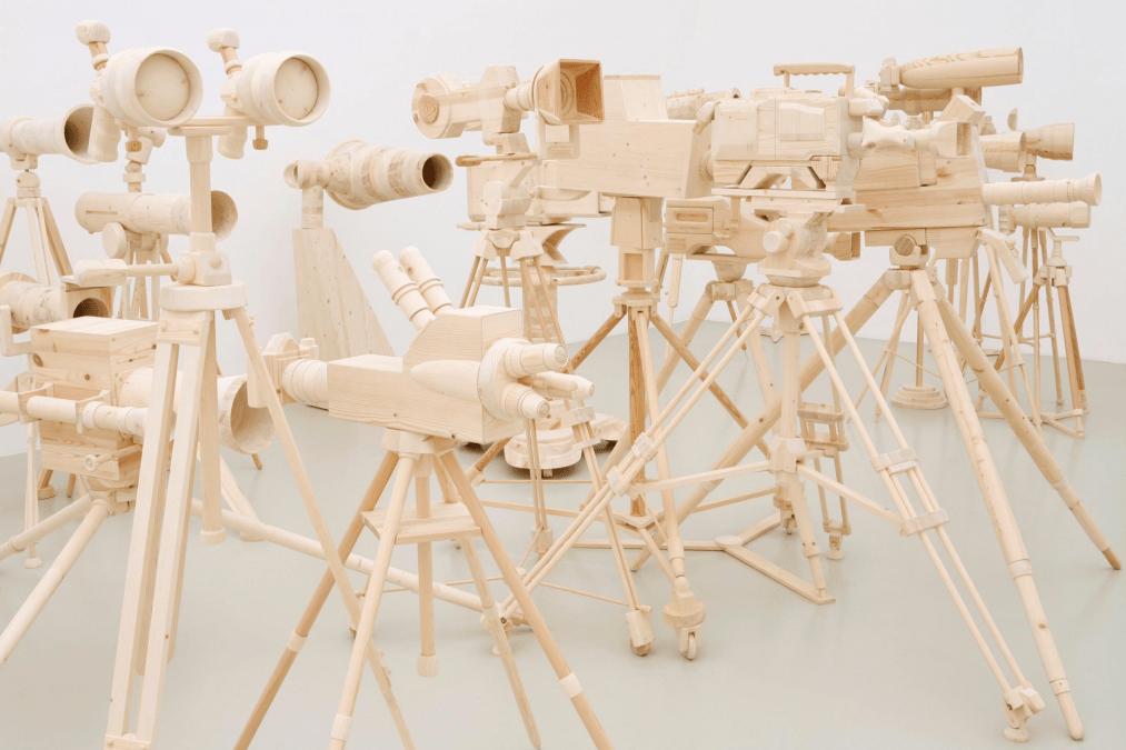 Wood Sculptures by Oliver Van Den Berg