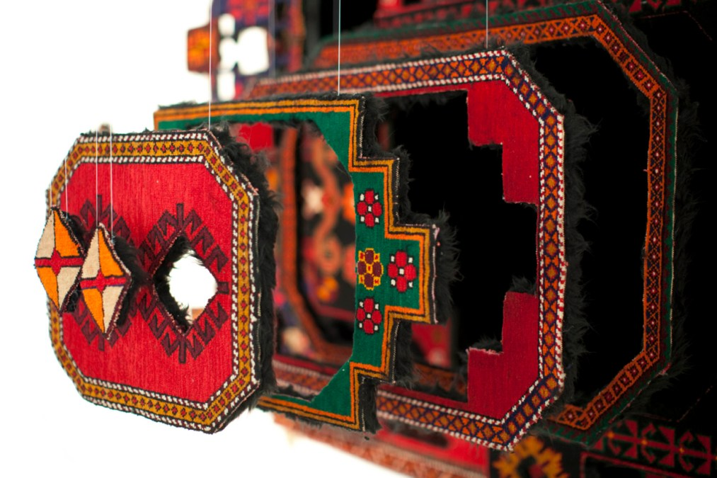Deconstructed Carpets by Faig Ahmed
