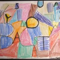 Alphabet Art: First Grade