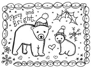 free printable holiday cards to color free printable christmas cards