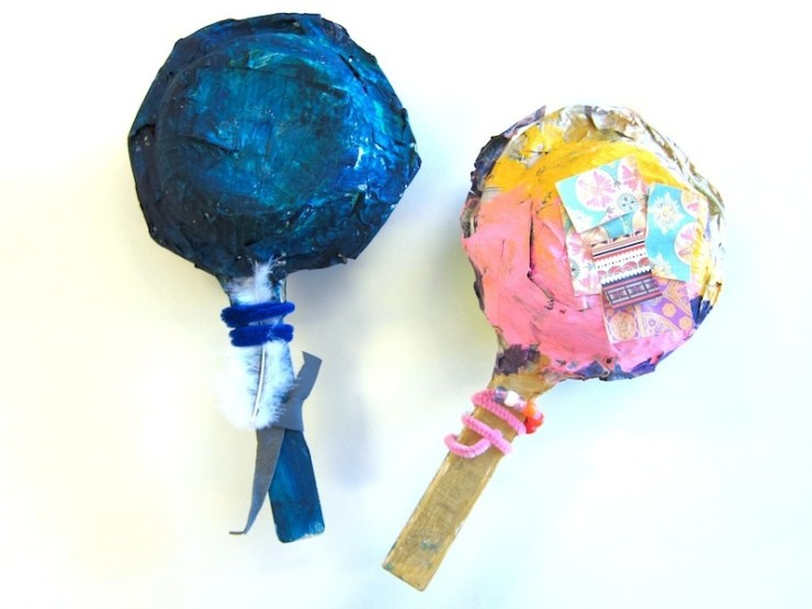 childrens rattle craft
