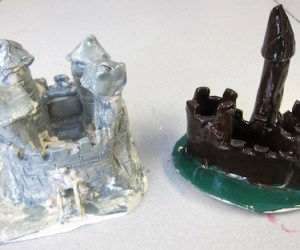 Clay Castles with 5th and 6th Grade