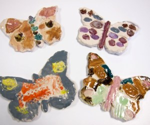 Clay Butterflies for 1st Grade