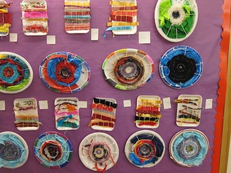 Display of weavings