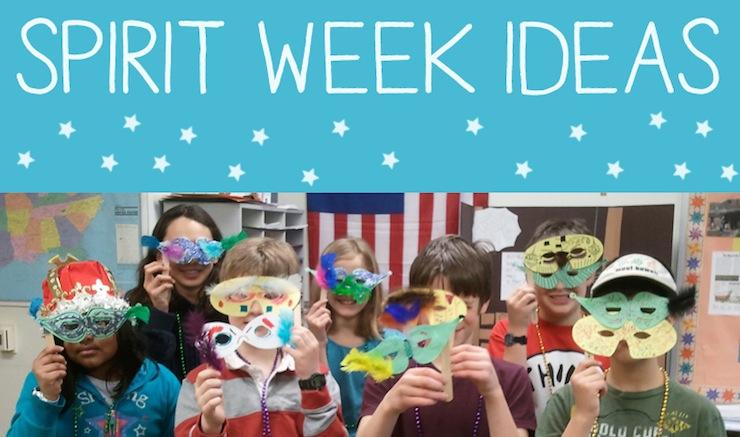 15 Spirit Week Ideas For School Art Is Basic An Elementary Art Blog