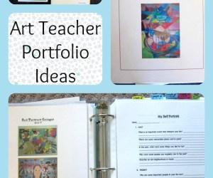 Art Teaching Portfolio Ideas