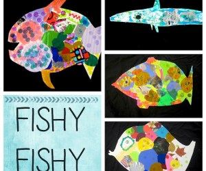 Rainbow Fish!  with Kindergarten