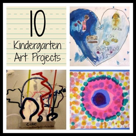 favorite art projects for kids roundup of kindergarten lessons