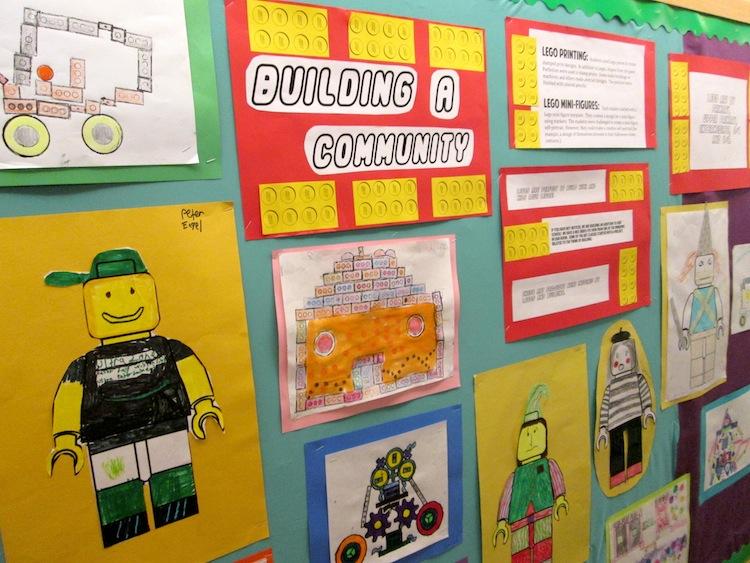 Lego Art Projects - Art is Basic   An Elementary Art Blog