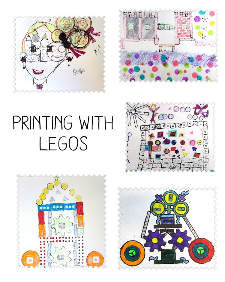 printing with legos