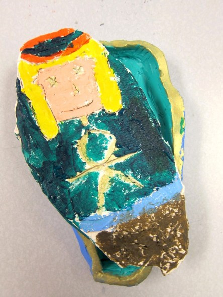 Acrylic Stand Designs : Egyptian clay sarcophagus art project for th and