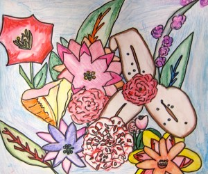 Have You Ever Drawn Flowers with Watercolor Pencils?