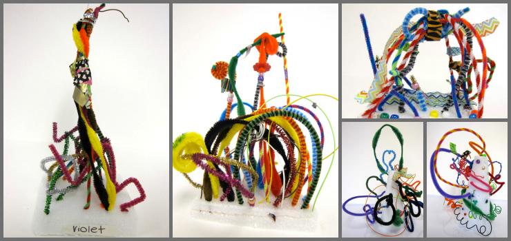 Line Sculptures