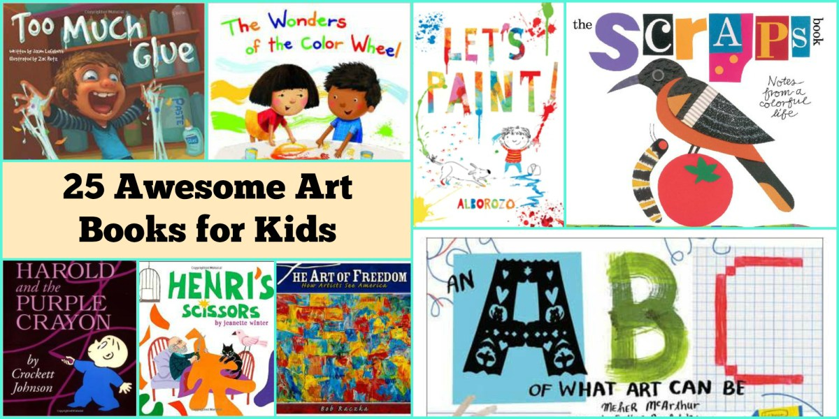 25 Awesome Art Books for Kids