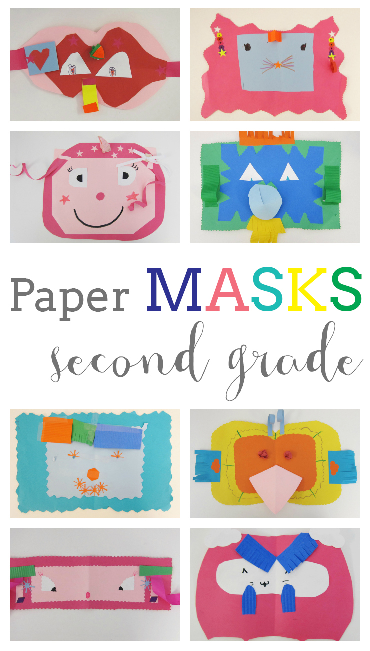 Paper Masks and Paper Sculpture Techniques – Art is Basic | An ...