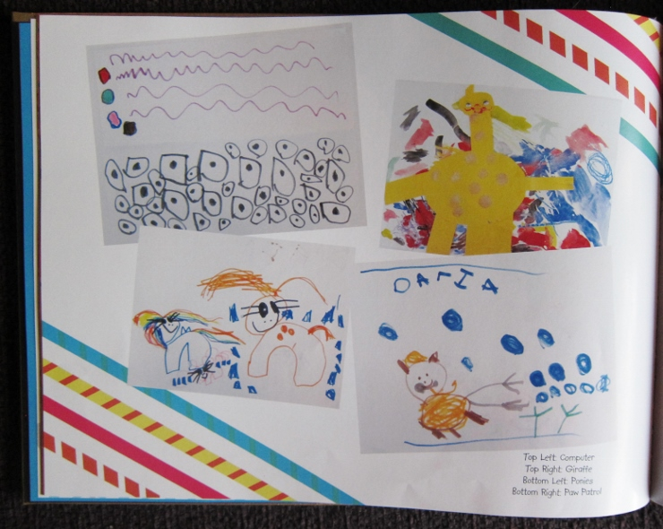 Create a Memory Book of Your Child's Artwork-- Preserve your art!