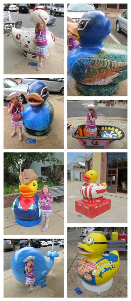 Duck Sculptures in St Joseph, MI