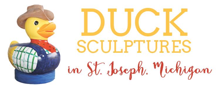 duck sculptures