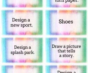 Art Task Cards-- Idea Starters