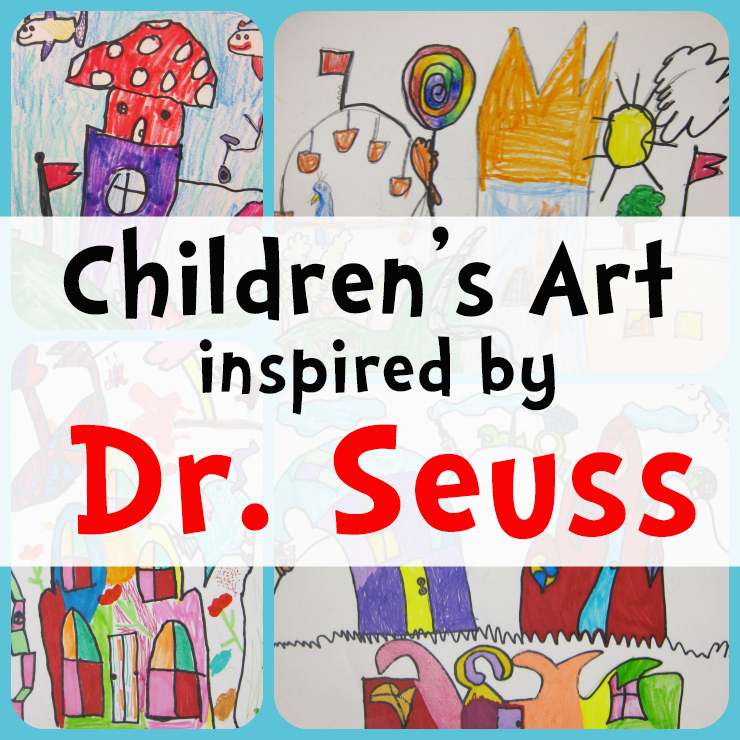 Dr. Seuss Art Project for Kids:  2nd Grade