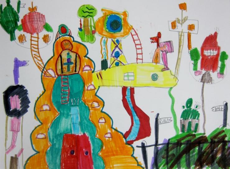 Dr Seuss Inspired Art Project (10)