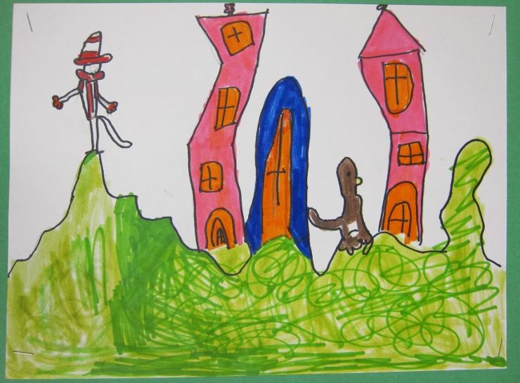 Dr Seuss Inspired Art Project (4)