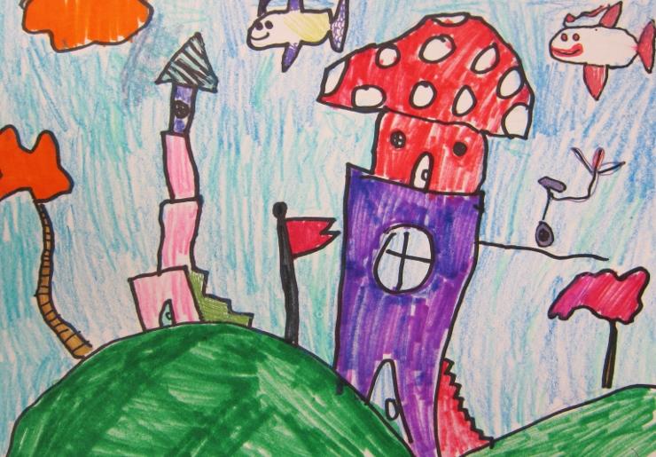 Dr Seuss Inspired Art Project (6)