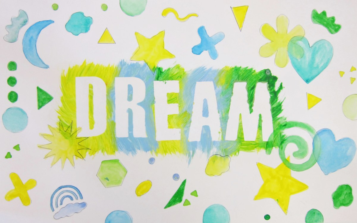 Art with Letters and Words: Painting over Adhesive Letters – Art is ...