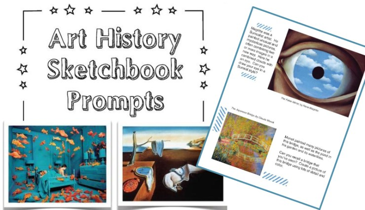 Art History Sketchbook Prompts